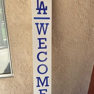 Welcome sign custom made color size available